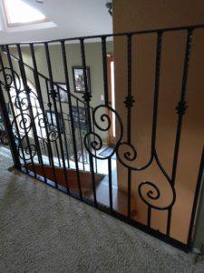 Custom handrail - Morrison