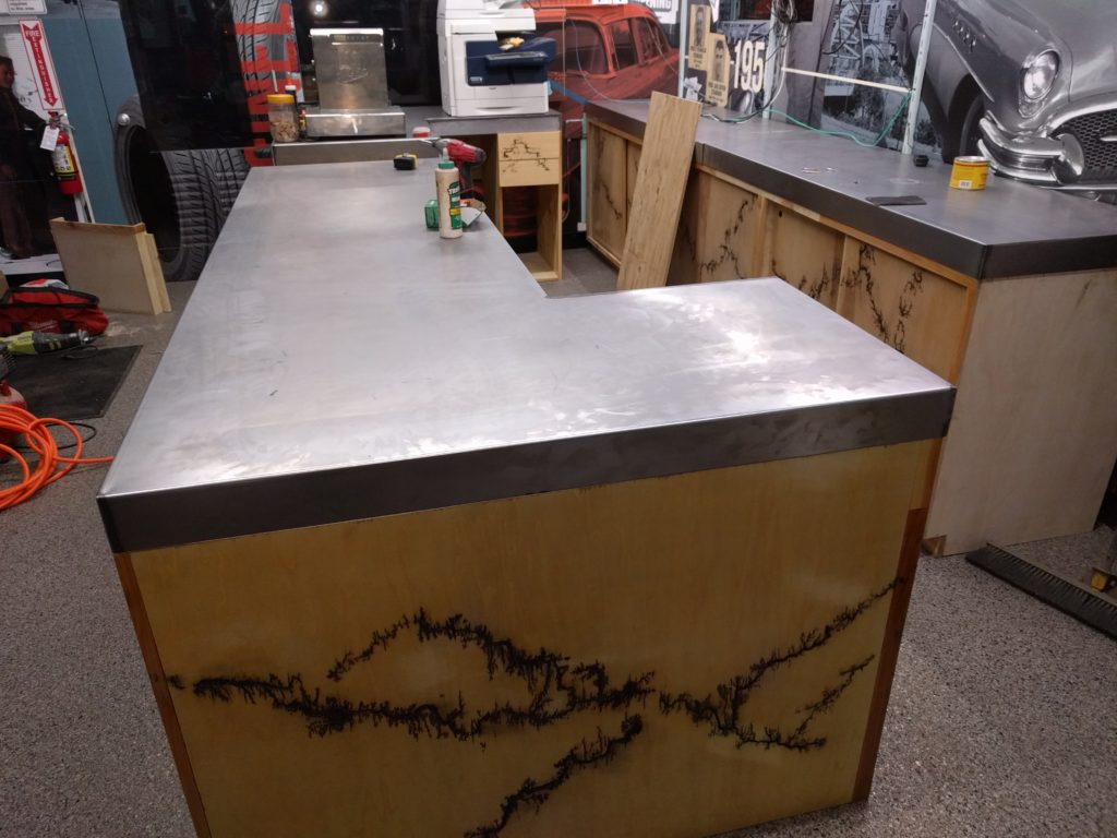 Denver custom reception desk
