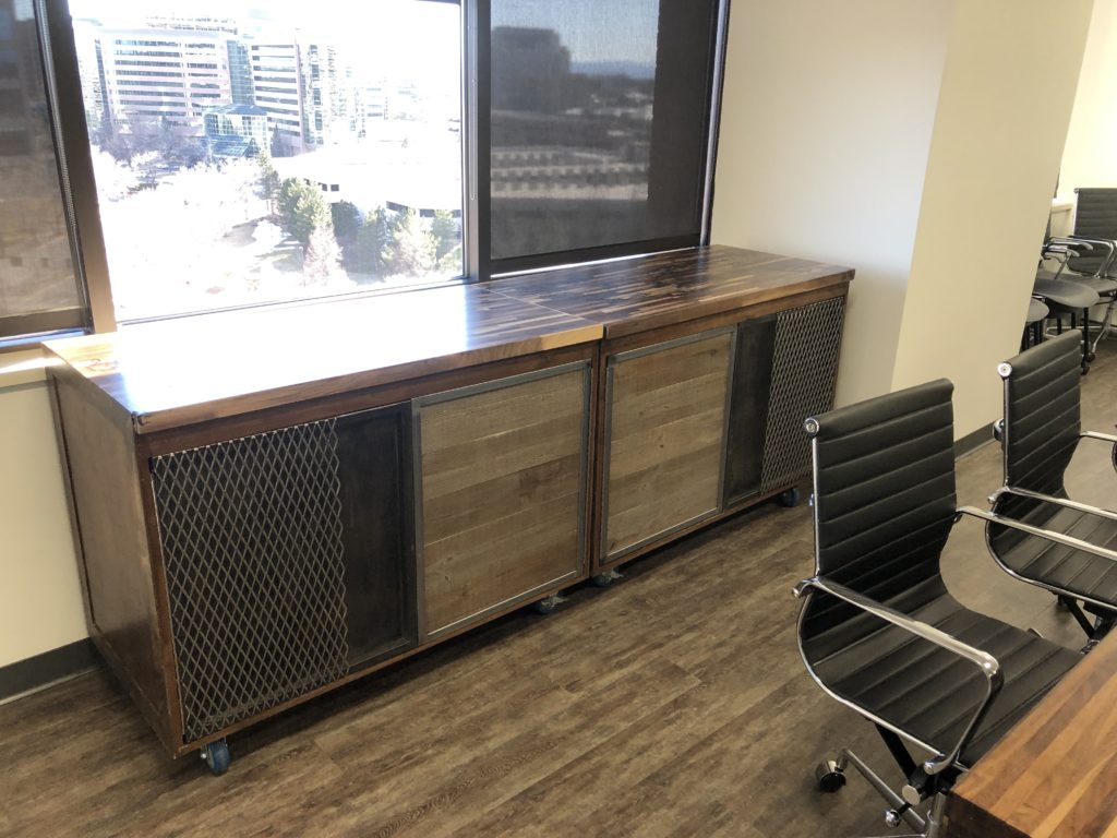 Custom cabinets Denver tech center
