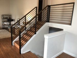 Custom handrails Denver