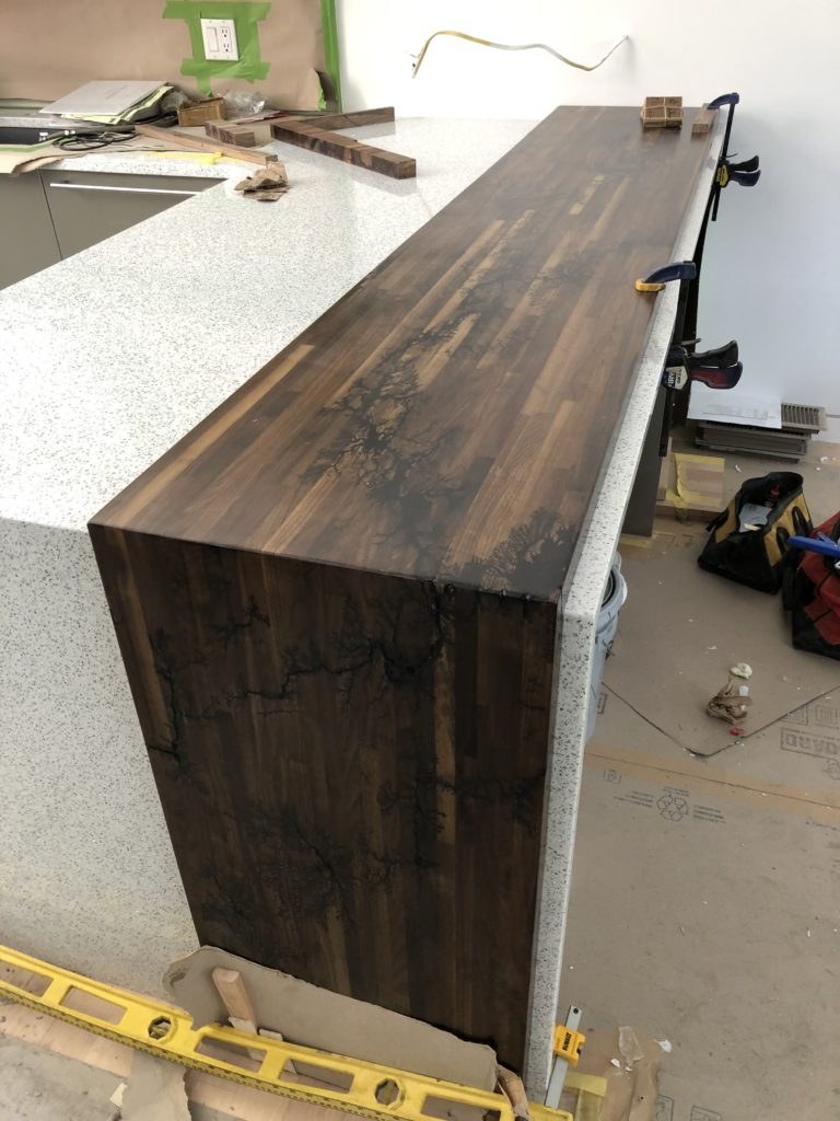 Custom countertop Denver