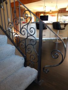 Houghton handrail was an amazing metal work project we were honored to be a part of.