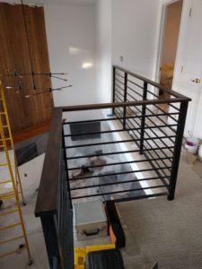 Custom handrail - Vail