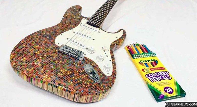 Burls Art Guitar